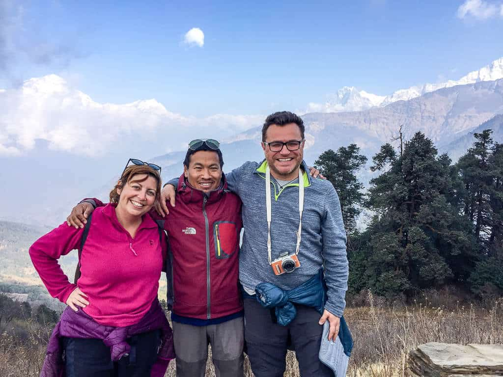 Our trekking guide in Nepal