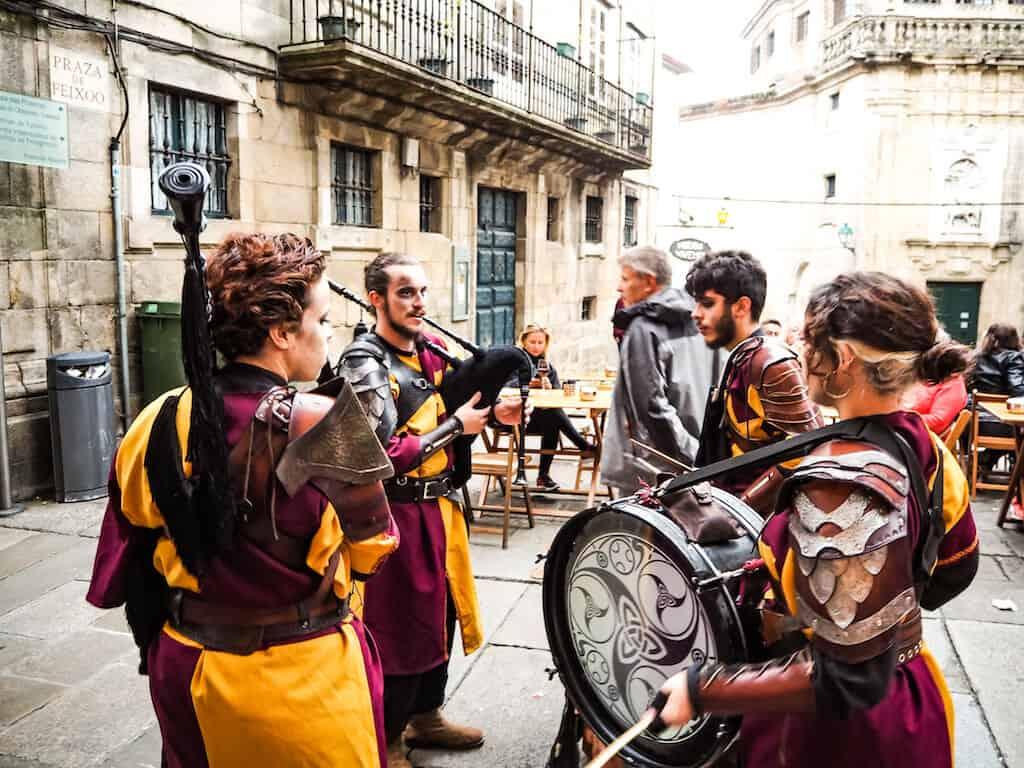 Festivals in Galicia