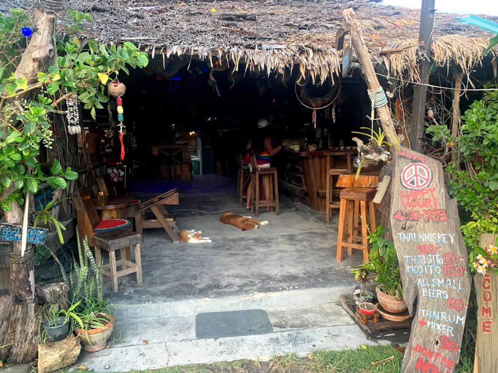 Bars and restaurants on Walking Street, Koh Lipe