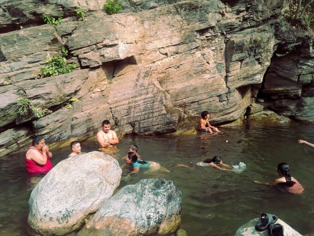Piscina natural en el Río Hato (Puerta de Golpe)
