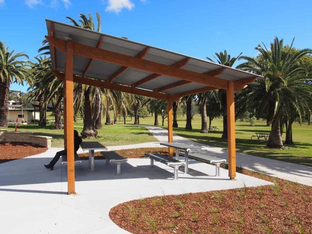 Nesca Park, The Hill