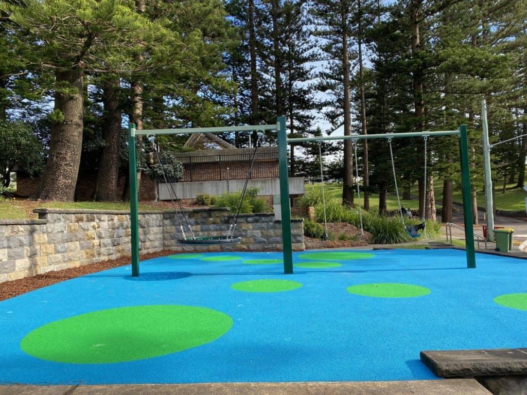 King Edward Park playground