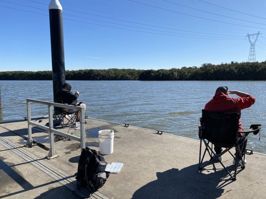 Fishing Hunter Wetlands National Park