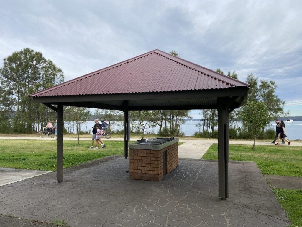 Lake Macquarie picnic spots Warners Bay