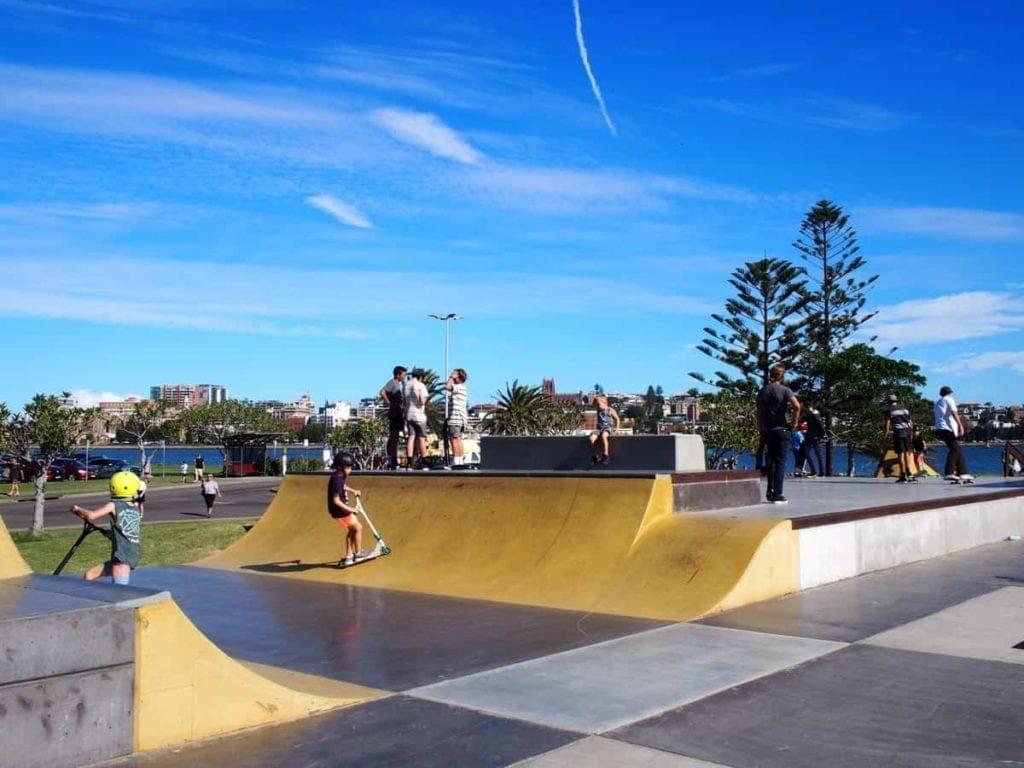 Skate park Newcastle