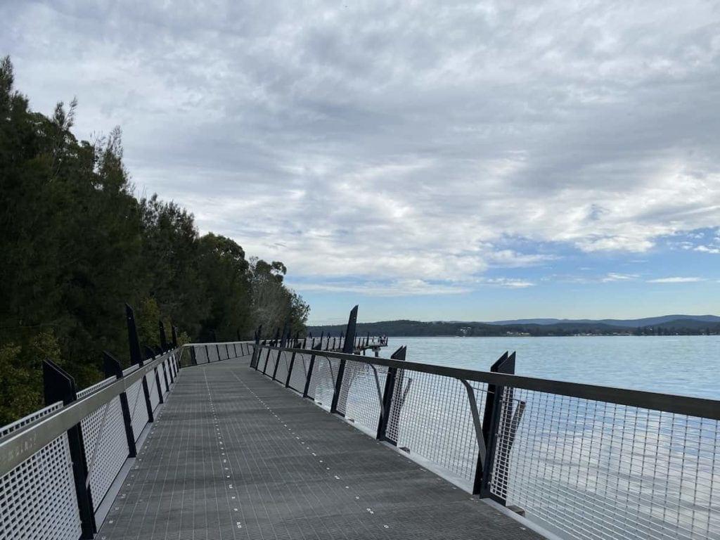 Lake Macquarie walk