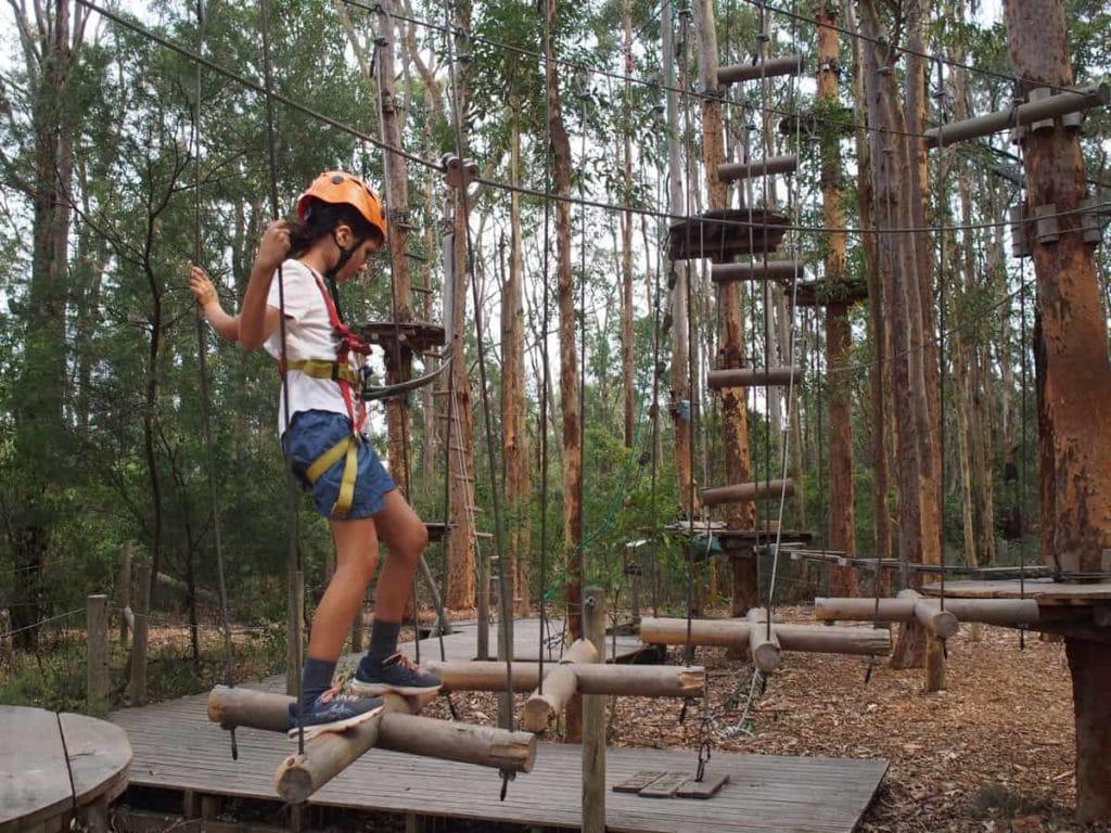TreeTops Adventure Park Kids Course