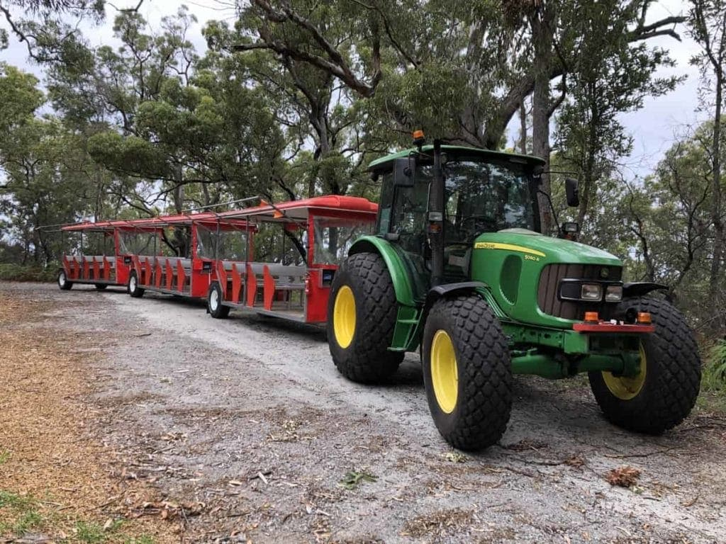 Toboggan Hill Park Tractor