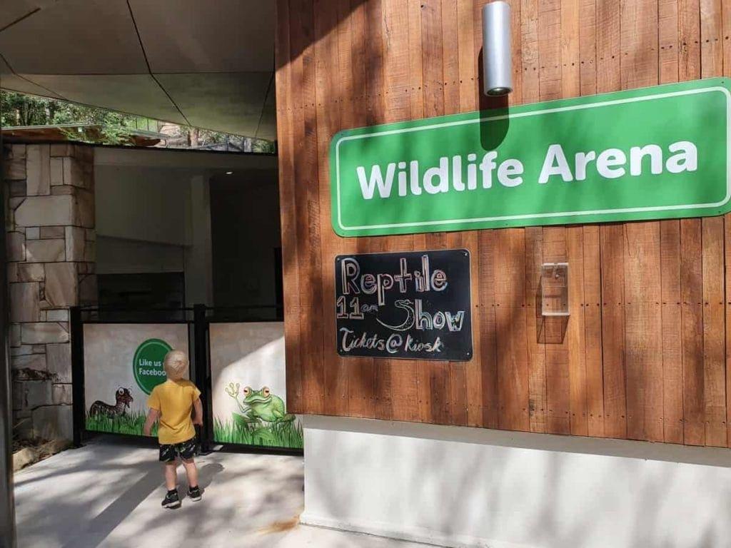Blackbutt Reserve Reptile Show