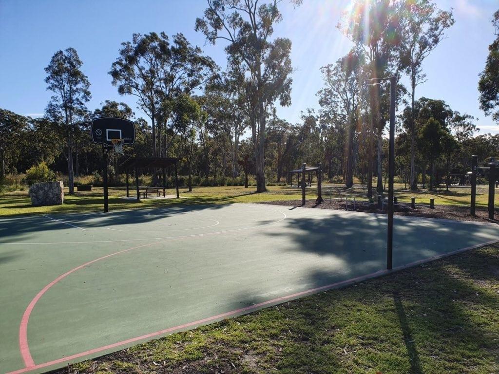 Bower Reserve Basketball Court Medowie