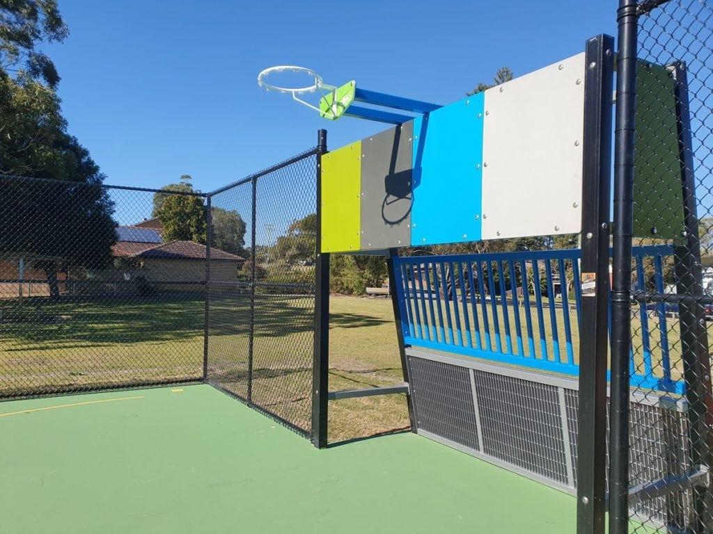 Fern Bay Basketball Court