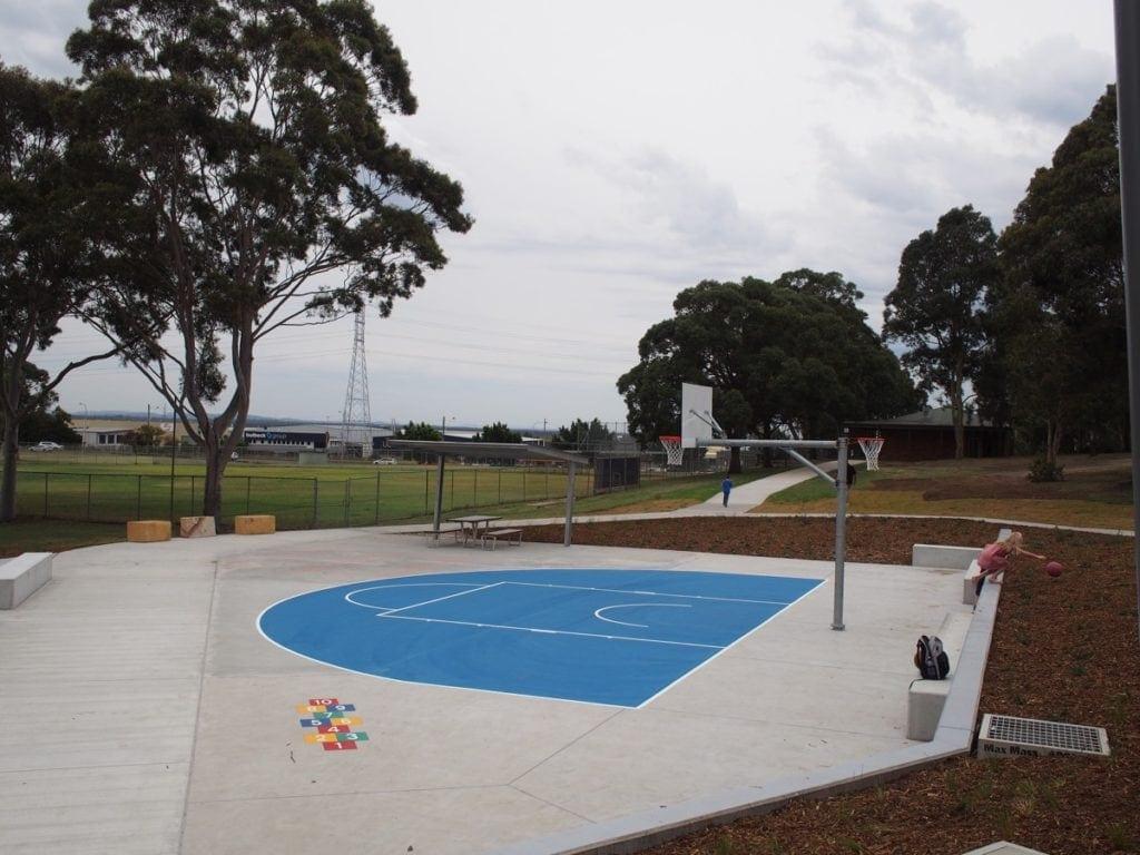 Stevenson Park Mayfield West Basketball Court