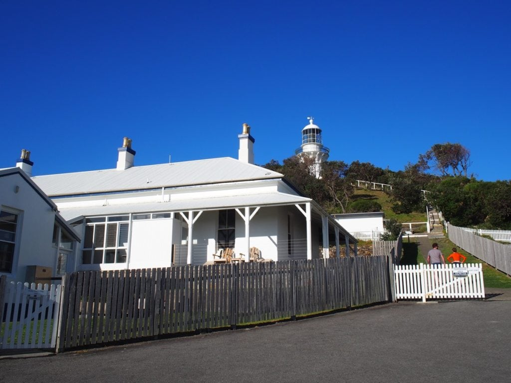 Sugarloaf Point Lighthouse Seal Rocks