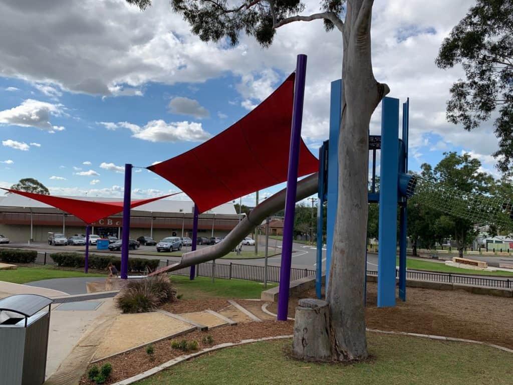 Bridges Hill Playground Cessnock