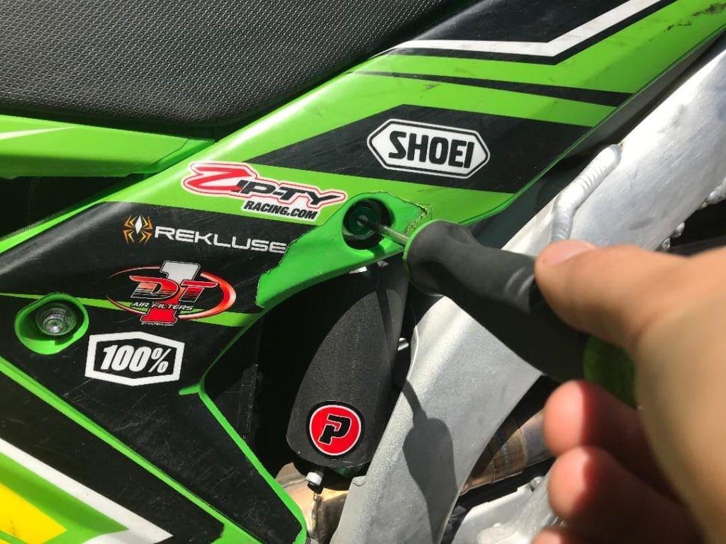 precision concepts rear shock kicks suspension low speed adjuster clicker