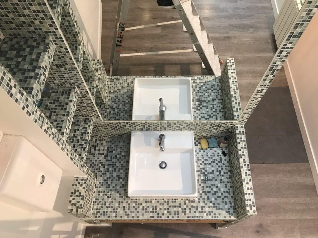 rénovation de la salle de bain maison