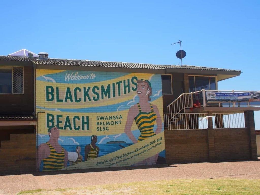 Blacksmiths Beach Mural Lake Macquarie