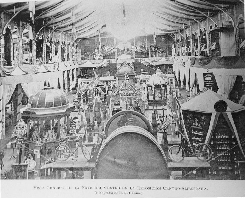 Pabellón Central de la Exposición Centroamericana