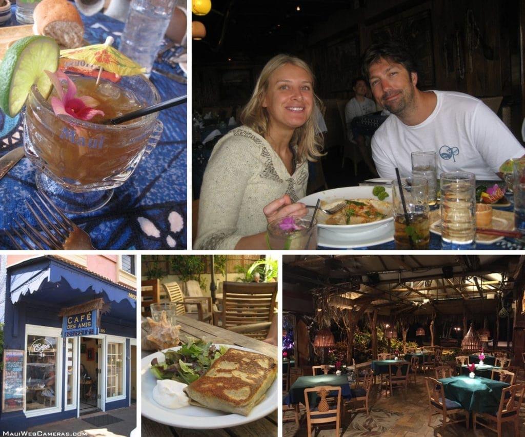 North Shore Maui restaurants