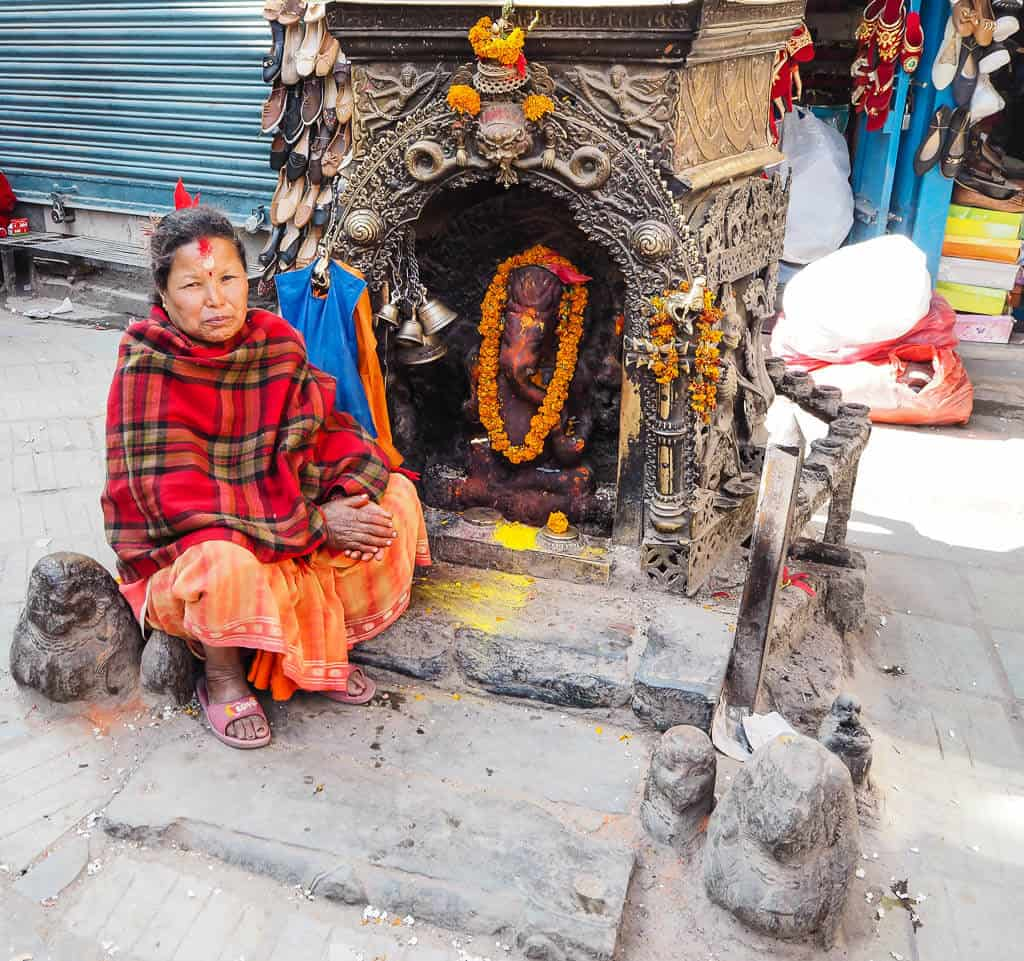 People of Kathmandu