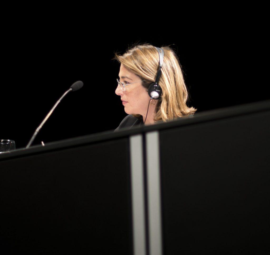 """Naomi Klein presenta en Madrid su nuevo libro """"Esto lo cambia todo: el capitalismo contra el clima"""" 2015. Adolfo Lujan   flickr ccbyncnd2 licence."""
