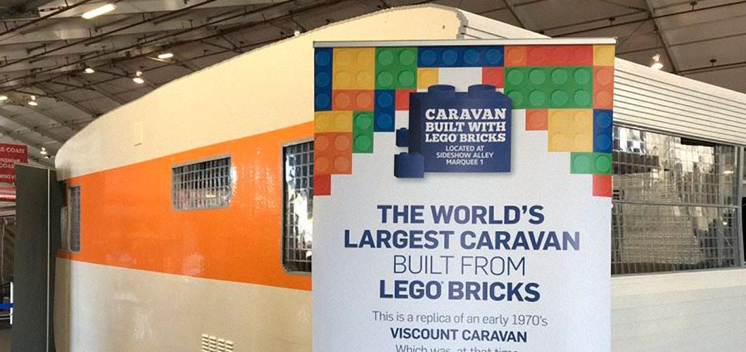 50th Supershow Lego Caravan
