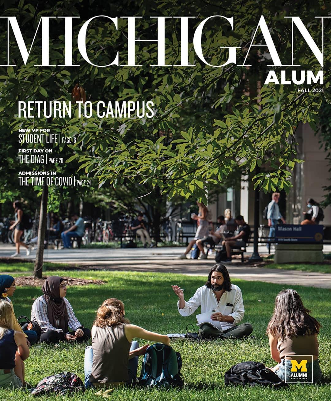 Fall 2021 Michigan Alum Cover