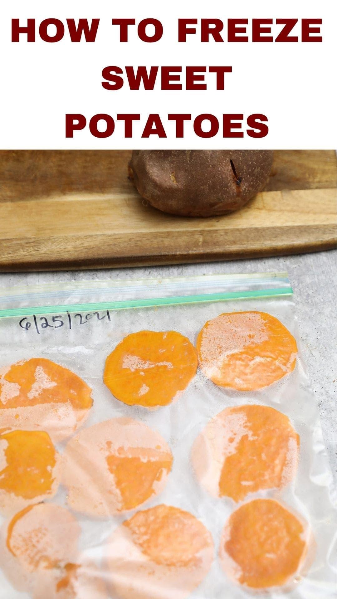 How To Freeze Sweet Potatoes?