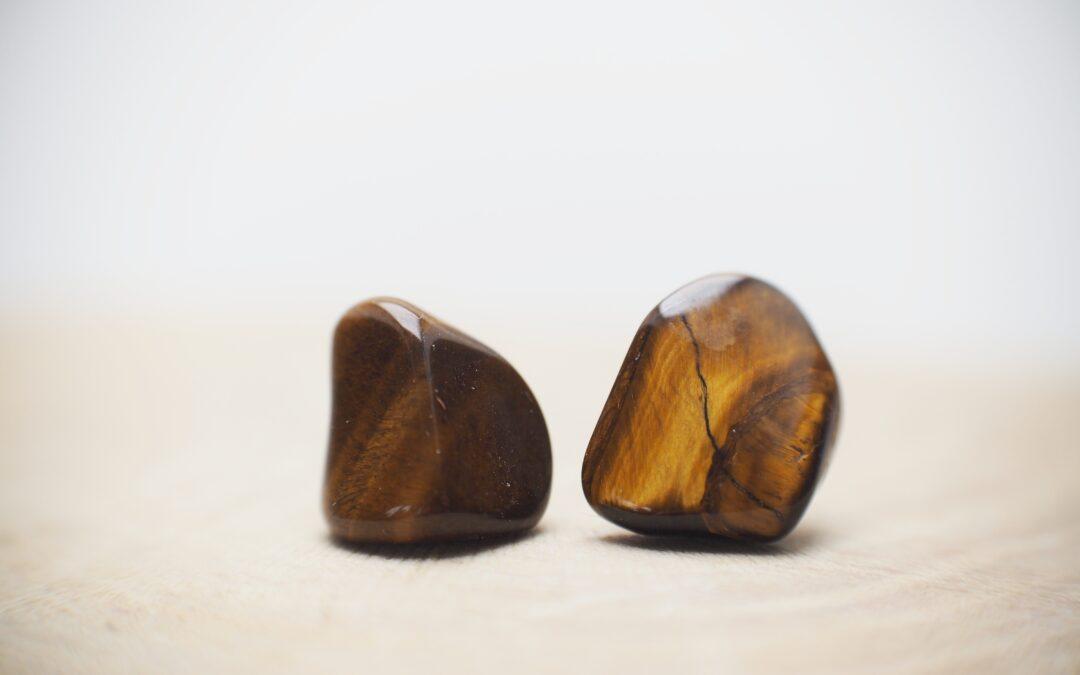 Minerální šperky.
