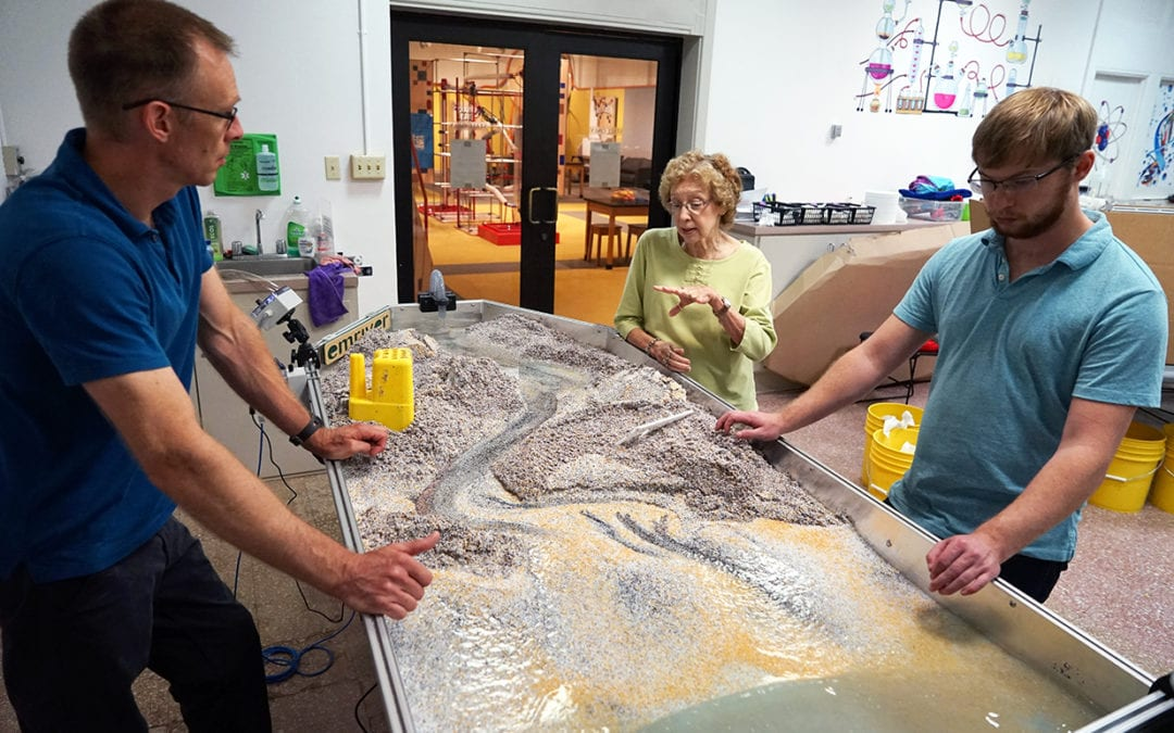 Louisiana Art & Science Museum Stream Table & Flume Installation
