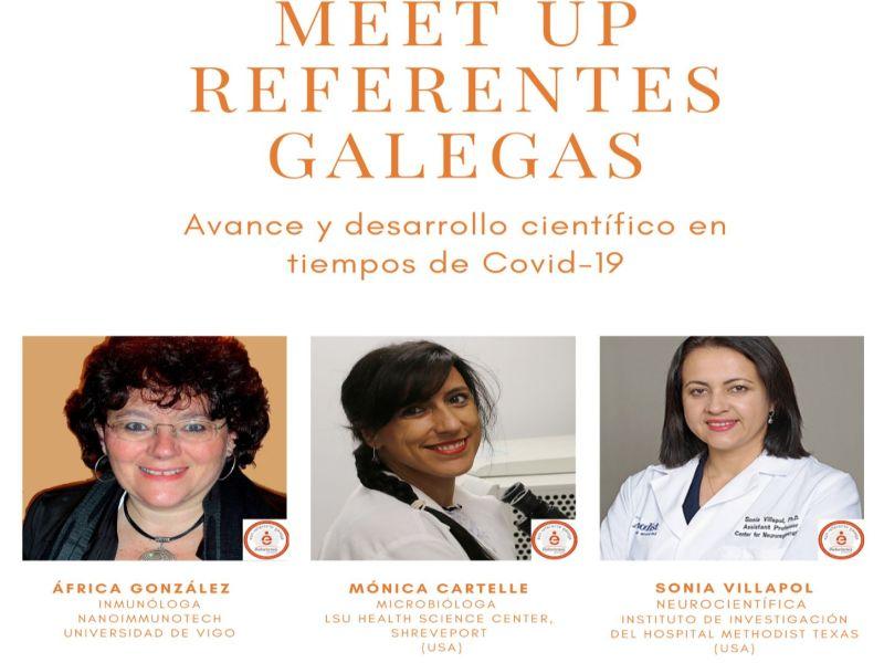 Executivas de Galicia inaugura o programa Meet up Referentes Galegas coa presenza de tres científicas internacionais
