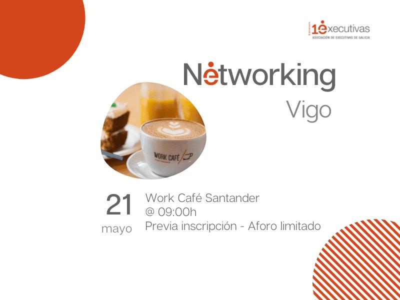 Almorzo Networking en Vigo 21 de maio