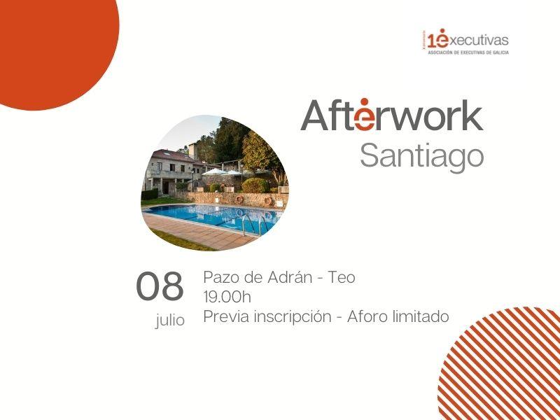 Novo Afterwork en Santiago 8 de xullo