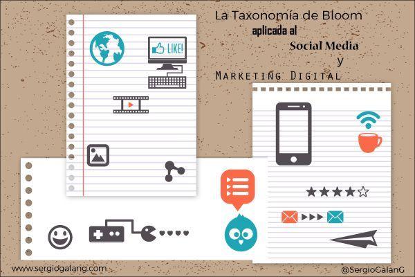 Taxonomia Bloom Marketing Digital