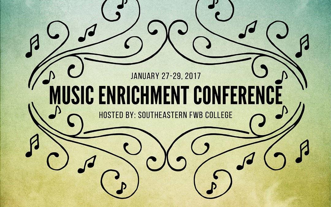 Music Enrichment Conference 2017