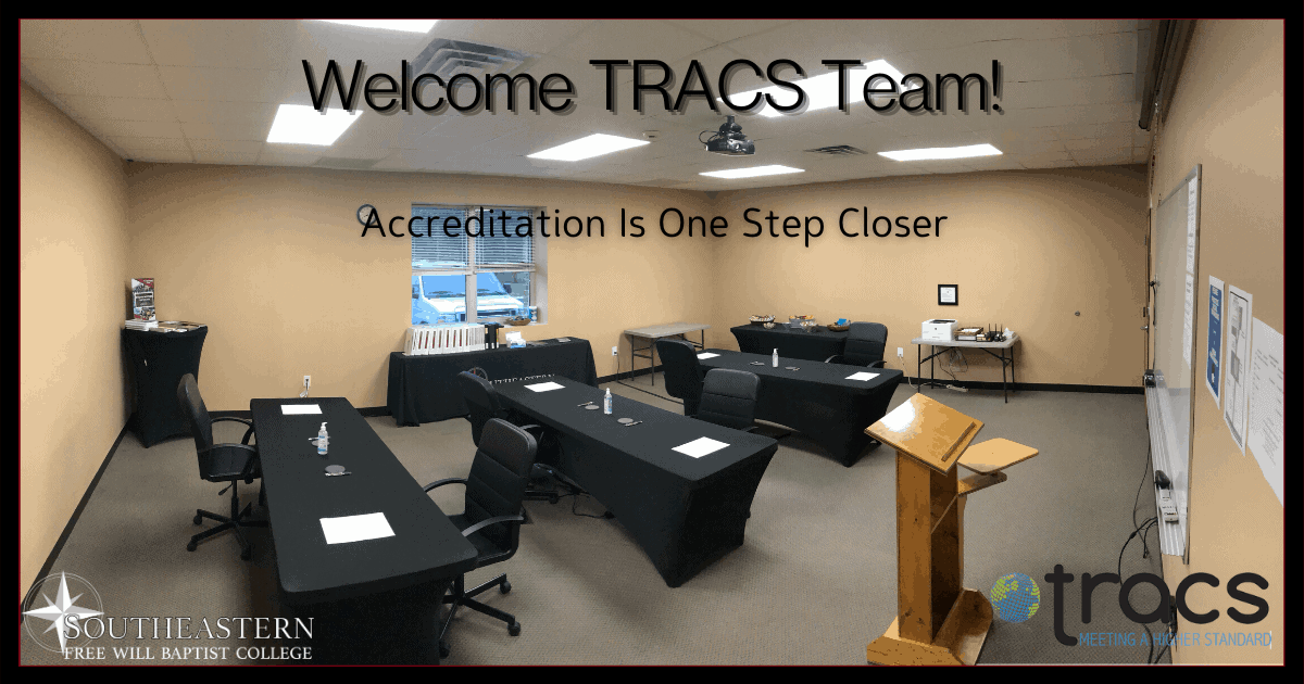 TRACS Accrediting Team Completes Final Site Visit on July 9, 2020