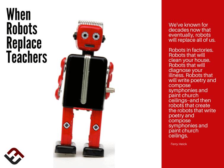 When Robots Replace Teachers