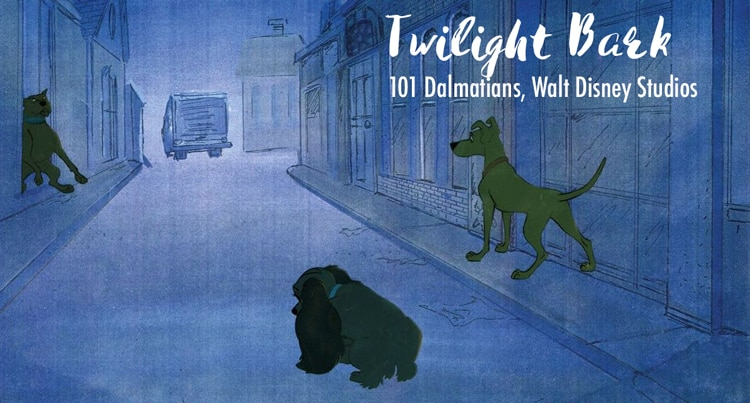 the idea of the twilight bark by walt disney