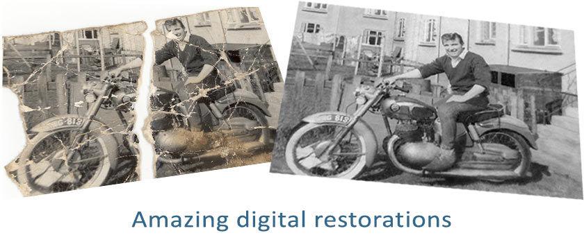 Photo Restoration Video 2011