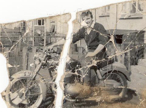Photo restoration slide show