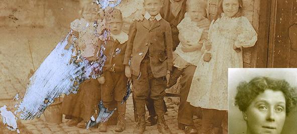 Wixon family 1908 restored