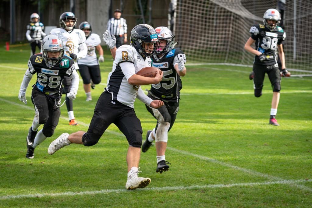Heimsieg gegen Raiders für die U15