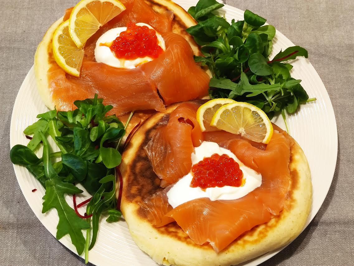 photo de Blinis au saumon fumé