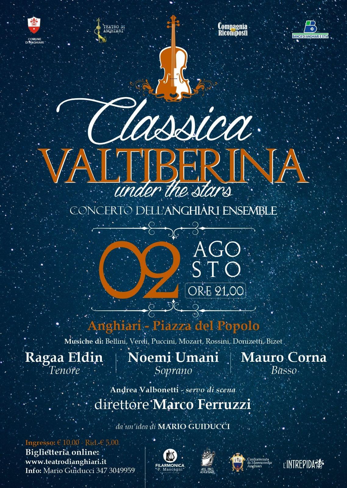 Classica Valtiberina locandina - Anghiari 2 agosto 2021