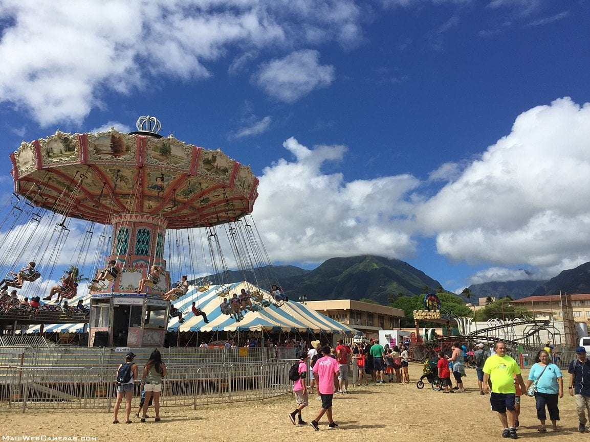 Maui Fair during the daytime