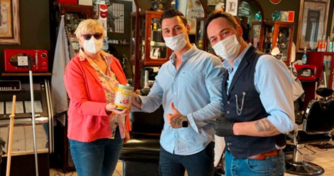 Spende von Inglorious Barbers – Siegburg