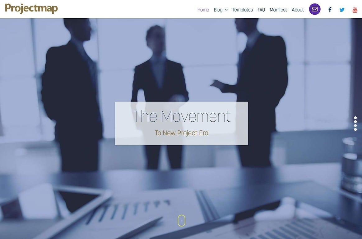 Project Management Methodology Website