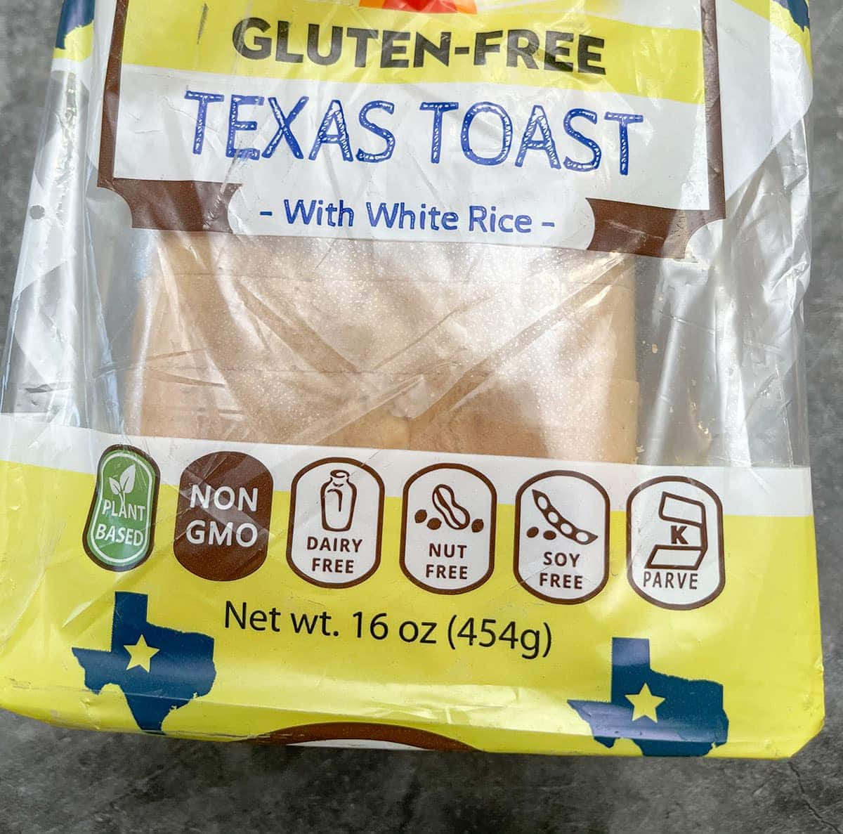 Gluten-Free Texas Toast for garlic bread