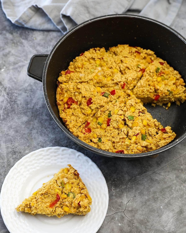 Vegan Creole Cornbread