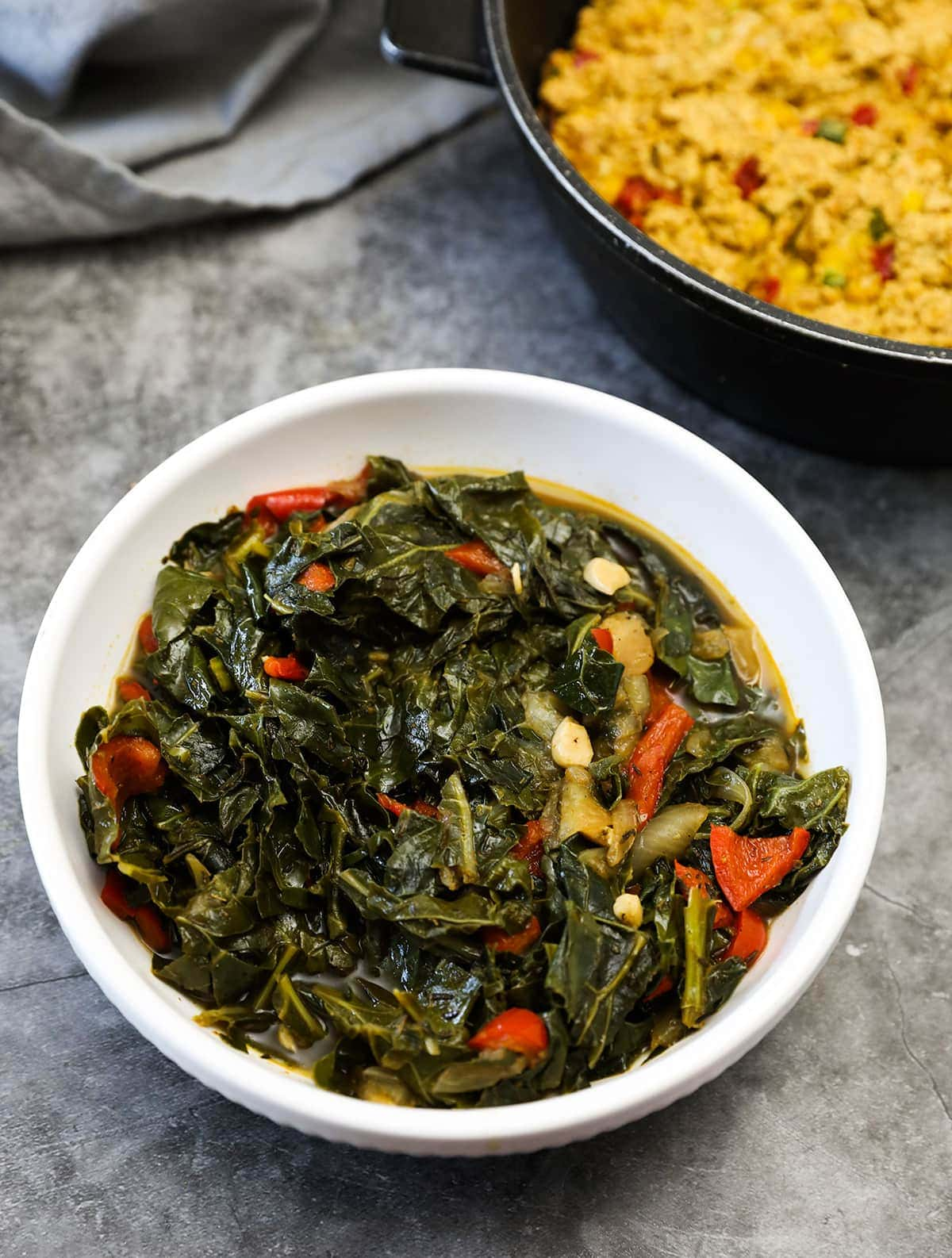 Vegan Instant Pot Collard Greens